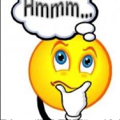 hmmm thinking