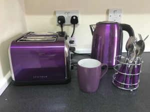 purple kettle