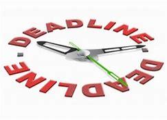 time deadline